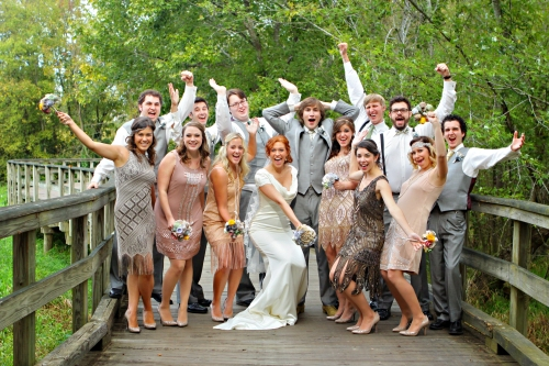 killer wedding party
