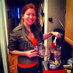 the food processor and me